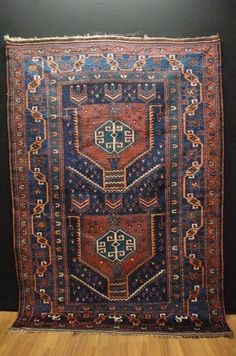 Antique tapis lori ca:225x160cm tappeto carpet teppich collectorpiece!!! | eBay