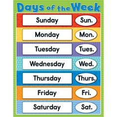image about Printable Days of the Week Chart known as 779 Perfect quantities visuals inside of 2019 Clroom guidelines, Cl