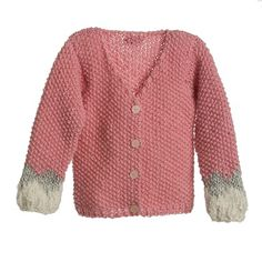 Cardigan pearl knit terna