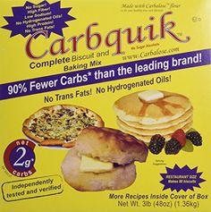 Carbquik Baking Mix, 3 lb. box Carbquik