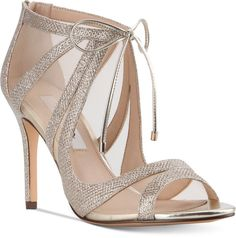 f222805bbe9 Nina Cherie Evening Sandals Gold Bridal Shoes