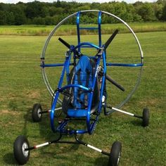 Green Eagle Powered Paraglider
