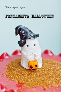 El blog de Megasilvita.com: Video Tutorial: Fantasmita Halloween