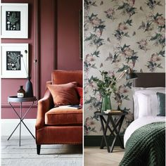 10 of the hottest home and interior design trends for Autumn Winter 2017 - For more interiors inspiration head to Redonline Shabby Chic Interiors, Shabby Chic Homes, Winter House, Furniture Styles, Design Trends, Design Styles, Winter 2017, Modern Interior Design, Timeless Design