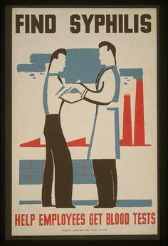 ☤ MD ☞☆☆☆ Find syphilis Help employees get blood tests. Enlarge: pinterest.com/pin/287386019944817163