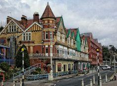 Penarth Esplanade by John Wosina on Amazing Houses, Cymru, Cardiff, South Wales, Newport, To Go, Coast, Street View, Architecture