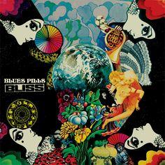 Blues Pills - Bliss (Vinyl) at Discogs Blues Rock, Bliss, Rock Album Covers, Astral Plane, Blue Pill, Rock Posters, Music Covers, Rock Music, Cover Art