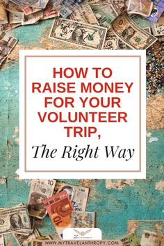 9 Tips to successfully raise money for your volunteer trip abroad. Learn how to budget for your volunteer trip, raise money ethically, and create lasting relationships with donors. Meet your goals for volunteering abroad by using these 9 tips to ethically raise money for your next volunteer trip abroad. #travelanthropy #mytravelanthropy #volunteerabroad | volunteer travel | fundraising ideas | volunteer fundraising | fundraising ideas for volunteer trips | volunteer abroad | fundraising tips Volunteer Gifts, Volunteer Appreciation, Volunteer Abroad, Volunteer Trips, Firefighter Quotes, Volunteer Firefighter, Firefighters, Fundraising Ideas, Fundraising Events
