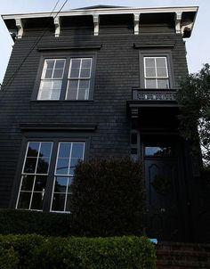 black house. Home sweet home......