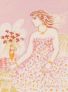 Visit the post for more. Painter Artist, Artist Painting, Artist Art, Contemporary Decorative Art, Greece Painting, Popular Art, Greek Art, Naive Art, Female Art