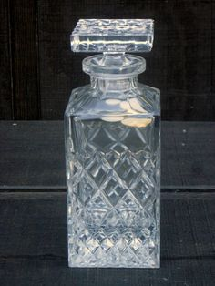 Cabootle - Bohemia Crystal Decanter - Czech Republic, $125.00 *SOLD* (http://www.cabootle.com/products/new-arrivals/bohemia-crystal-decanter-czech-republic/)