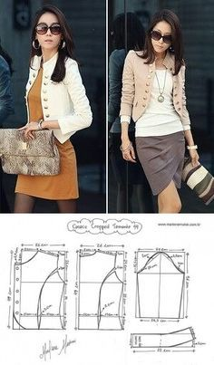 summer womens fashion trends:) AD# 7300923591 Fashion trends for summer women 🙂 AD # 7300923591 Fashion Sewing, Diy Fashion, Ideias Fashion, Womens Fashion, Fashion Trends, Fashion Ideas, Coat Patterns, Dress Sewing Patterns, Clothing Patterns