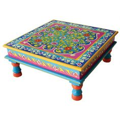 Small Table Turquoise