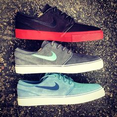 Hit up our new #Nike #SB #Janoski colorways! Right HERE, http://skatewarehouse.com/searchresults.html?search=products=nike+janoski