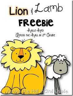 In like a lion ... Father's Day Activities, Graphing Activities, Kindergarten Activities, Spring Activities, Lamb Craft, March Crafts, Spring Crafts, March Themes, Lion And Lamb
