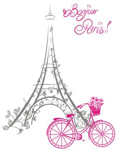 Paris Theme Decor, Paris Room Decor, Paris Rooms, Pray For Paris, I Love Paris, Paris Images, Paris Pictures, Paris Illustration, Illustrations