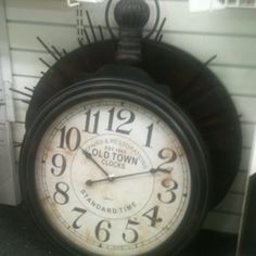 Homegoods! Love this clock