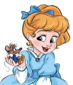 Young Cinderella by: David Gilson