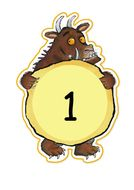 numbers to 10 on Gruffalo.doc