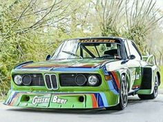 BMW CSL Group 5 'Batmobile' 1976 1 of 4 made by factory Weird Cars, Cool Cars, Touring, Bmw Old, Bmw Motors, Bmw Sport, Bmw Wallpapers, Bmw Alpina, Bmw Classic Cars