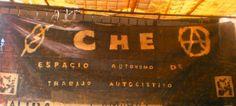 Auditorio Che Guevara, UNAM. OkupaChe: Catorce velitas (o antorchas) de fuego contra el sistema.