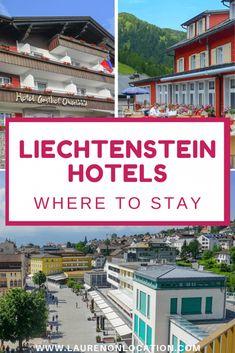7 Amazing Liechtenstein Hotels: Where to Stay in Liechtenstein Berlin, European Road Trip, Unique Vacations, Hotel Door, Travel Through Europe, Park Hotel, Bike Trails, Romantic Getaway, Hotel Reviews