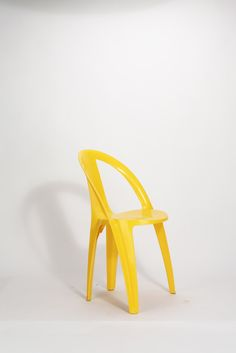 Entwurf unbekannt, Monoblock - Stuhl aus Polypropylen (ca. 1970)