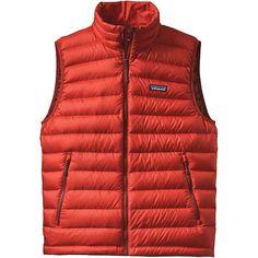 Patagonia Men's Down Sweater Vest - XS - Ramble Red
