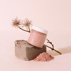 A calming blend of French Rose Clay, Coconut Milk, and Chamomile, this gently clarifying mask works to soften and soothe the skin. Great for all skin types. Diy Cosmetic, Cosmetic Packaging, Coconut Milk Powder, Facial Steaming, Rose Clay, Green Clay, Clay Masks, White Clay, Web Design