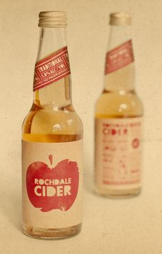 Rochdale Cider packaging designed by Supply (New Zealand) Juice Packaging, Cool Packaging, Food Packaging Design, Beverage Packaging, Coffee Packaging, Bottle Packaging, Apple Juice, Apple Cider, Craft Cider