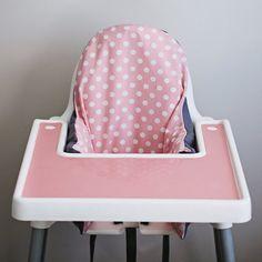 Housse de chaise haute Antilop IKEA / / Pink par YeahBabyGoods