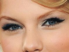 Taylor Swift has gorgeous hooded lids<---Previous comment by Michelle Phan. SHE KNOWS HER BEAUTY. XD