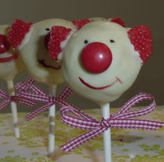 cakepops clown