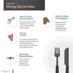 🍴Dining out is actually quite easy when following a ketogenic diet! Every restaurant will have something you can order or modify to keep…