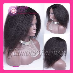 Find More Wigs Information about GQ italian kinky straight full lace wig virgin human hair wigs & gluleless lace front human hair wig for black women black color,High Quality wig style,China hair color over 50 Suppliers, Cheap hair wigs india from Glamour Fashion Hair CO.,LTD on Aliexpress.com