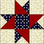 Free Quilt, Craft and Sewing Patterns: Links and Tutorials *With Heart and Hands*: Free Patriotic Quilt Patterns