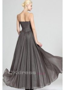 Sweetheart A Line Floor Length Long Evening Gowns