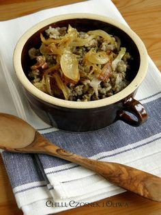 Libański ryż z soczewicą i karmelizowaną cebulką - Mujaddara | Chilli, Czosnek i Oliwa | blog kulinarny