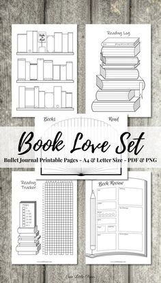 Bullet Journal Reading Log, Bullet Journal Kit, Books To Read Bullet Journal, Bullet Journal Ideas Pages, Bullet Journal Layout, Bullet Journal Inspiration, Book Journal, Reading Journals, Reading Tracker