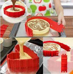 Magic Snake Cake Mold (4 Piece Set)