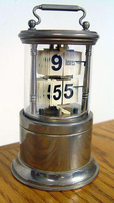 Gustav Becker Lancel Plato ticket clock Cylinder case nickel early digital | eBay