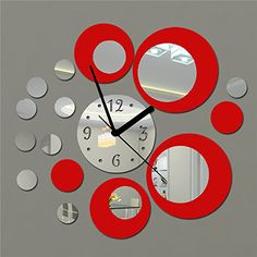 Clocks Friendly Reloj De Pared Diversión Decorativa Sexy Estilo Grunge Acrylglas