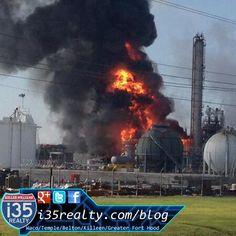 Geismar, Louisiana Williams Geismar Olefine Chemical Plant Explosion #GeismarLA #Explosion #RealEstate