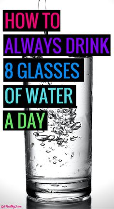 No calories! Free! Life-changing! Water is one of the most amazing things you can put in your body with tons of healthy benefits- here is how YOU CAN drink more!