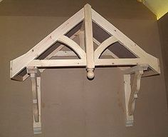 porch roof bracket support | Porch Kit - Flat Roof Porch Canopy 1200mm