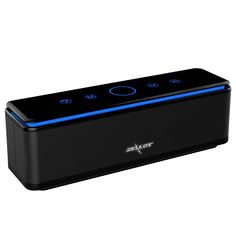 Bluetooth Speakers ZEALOT S7 Touch Panel Control Quad-Driver Wireless Home Theater System with Enhanced Bass and 10000 mAh Power Bank