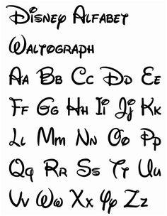 Disney Letters, Disney Alphabet, Bullet Journal Lettering Ideas, Bullet Journal Writing, Bullet Journal Ideas Pages, Bullet Journal Inspiration, Lettering Tutorial, Letras Cool, Spelling And Handwriting