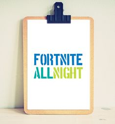 Fortnite - Battle Royale - Gifts - Fortnite Game - Gamer - Prints - Room Decor - Birthday - Xbox - PS4 - Printable - Quotes - Kids - Bedroom