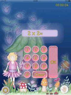 See the fairy's wand sparkle