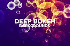 Deep Bokeh Backgrounds by themefire